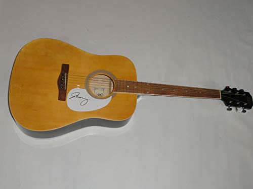 JEFF TWEEDY SIGNED FULL-SIZE NATURAL ACOUSTIC GUITAR WILCO JSA COA