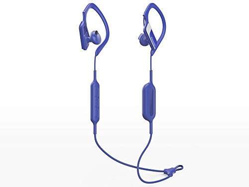 אוזניות ! Panasonic RP-BTS10-A WINGS Bluetooth Sport Earphones Blue