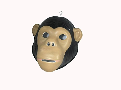 FixtureDisplays Funny Monkey Mask Costume For Adult and Child 15682