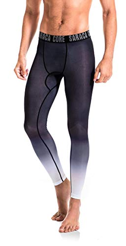 saraca core Men Youth Compression Pants Athletic Tights Running Leggings Baselayer Cool Dry