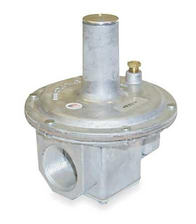 Maxitrol RV61-1-1/4 1-1/4'' Straight-Thru-Flow Gas Regulator, 1 psi Inlet Pressure, 2, 500, 000 Btu, Aluminum by MAXITROL (Image #1)
