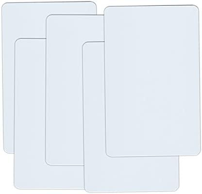 NFC Tarjetas ntag215 504 bytes, tarjeta de crédito, blanco 5 Karten