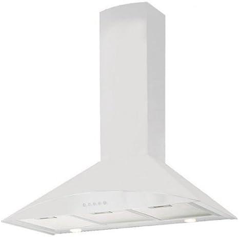 Whirlpool akr029wh campana decorativa pared 600 M3/H color blanco: Amazon.es: Grandes electrodomésticos