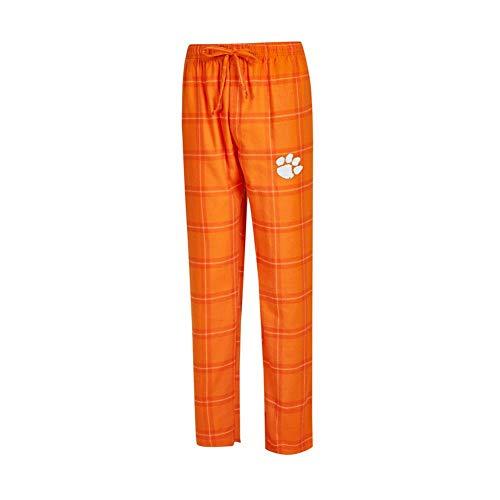 Concepts Sport Clemson University Tigers Men's Pajama Pants Plaid Pajama Bottoms (Large) from Concepts Sport