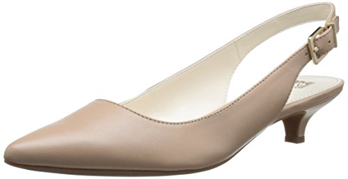 Anne Klein Women's Expert Dress Pump, Natural, 6.5 M US