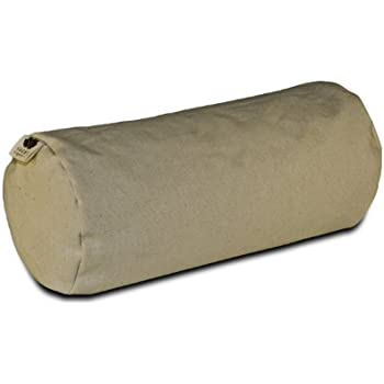 Amazon Com Buckwheat Cylinder Neck Pillow Home Amp Kitchen