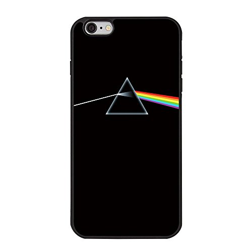 Pink Floyd iPhone 6 Plus Case, Dark Side of the Moon Album Cover TPU Case for iPhone 6 Plus/6s Plus - 5.5 inches