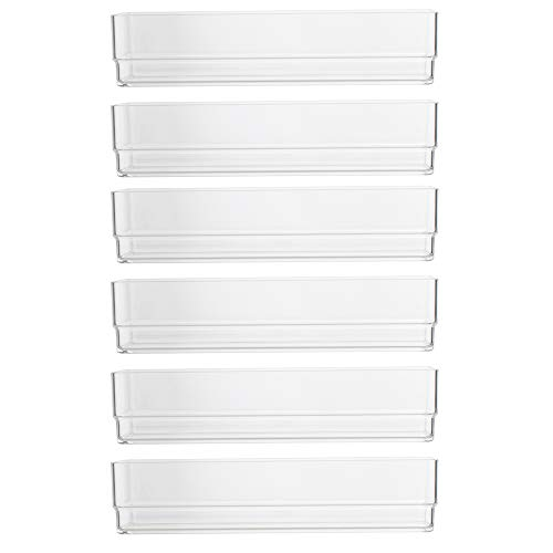 STORi Break-Resistant Plastic Drawer Organizers 6