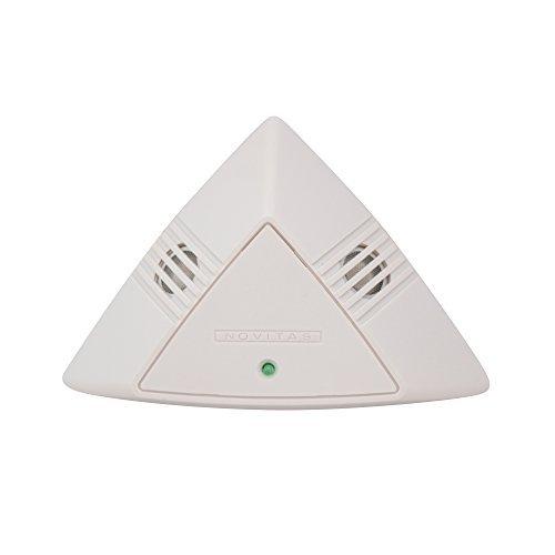 Novitas Cooper 01-160 Small Area Ceiling Sensor Automatic Lighting Control Occupancy Sensor, White