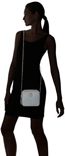 Tommy Hilfiger Camera Bag Novelty Solid, Bolso Bandolera para Mujer, 7.5x15x18 cm (W x H x L) Azul (Sharkskin)