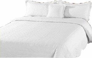 couvre lit grande dimension Victoria   couvre lit /dessus de lit + couvre oreiller   bord  couvre lit grande dimension