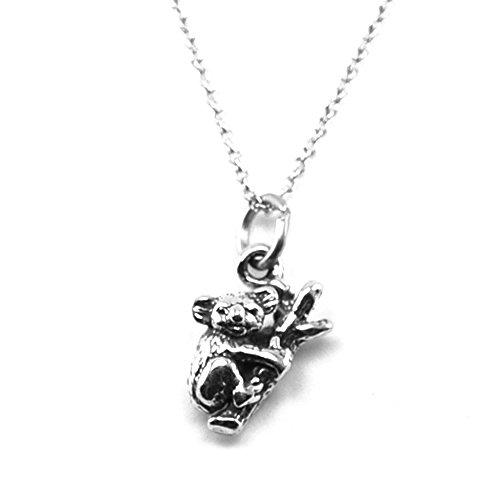 Kevin N Anna Sterling Silver Animal Pendant Necklace, 18