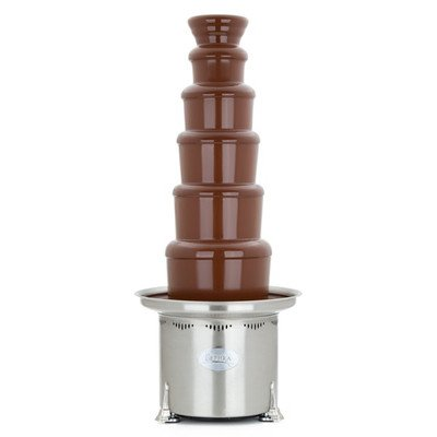 Sephra 44 Inch Stainless Steel Commercial Chocolate Fountain