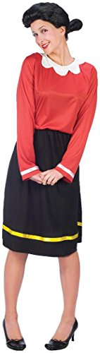 Olive Oyl Adult Costume - (Fun Couples Costumes For Halloween)