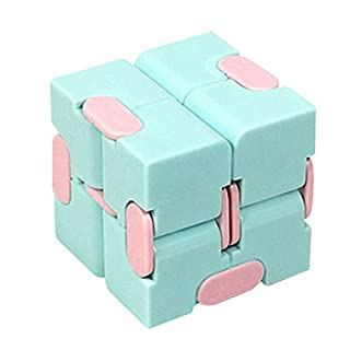 YTXTT Infinity Cube Fidget Cube Toy, Sensory Stress Relief Decompression Fidget Finger Toys, Infinite Cube for Kids Adults Office