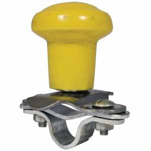 Universal Steering Wheel Spinner Knob (Yellow)