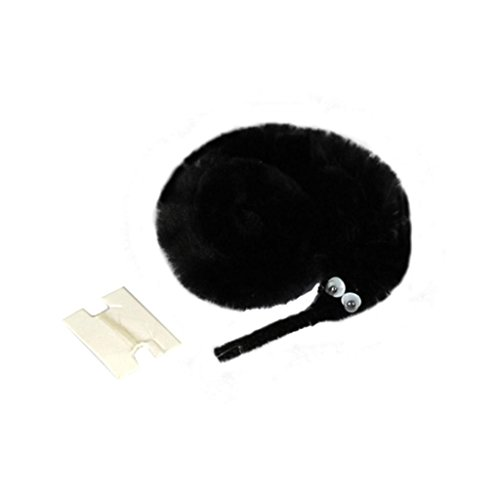 - Party Favors Magic Worm Toys, Staron Fun Toys Fuzzy Worm Trick Toys Magic Twisty Fuzzy Toys for Cats or Party Supplies (Black)