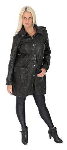 Femme Duffle Fashion Noir Goods A1 Manteau Coat wqpFn0X