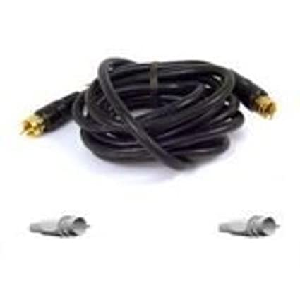 Belkin F8V304-06 6-Feet RG59 Coaxial Cable (Black)