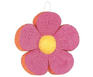 Pink Daisy Flower Pinata -