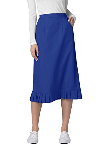 Adar Universal Pleat Flounce Skirt (Available is 10 colors) - 708 - Royal Blue - Size ()