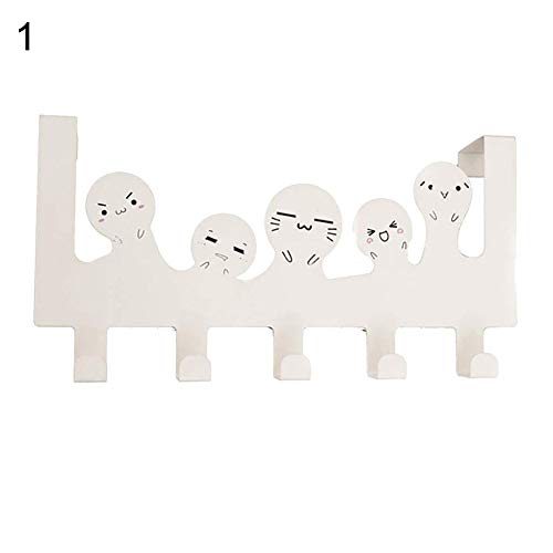 (Finance Plan Stainless Steel Cat Boy Door Hook Clothes Hat Coat Storage Rack Hanger Organizer)
