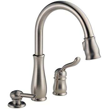 Delta Faucet 978 Sssd Dst Leland Single Handle Pull Down