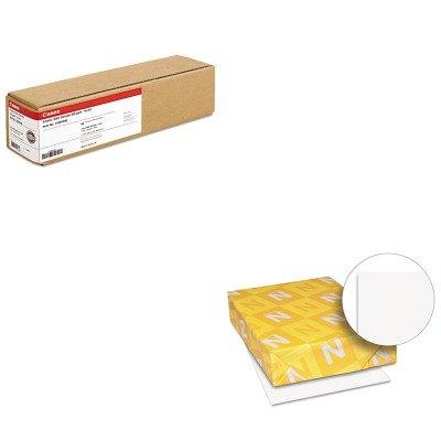 KITCNM1429V466WAU40411 - Value Kit - Canon Artistic Satin Canvas (CNM1429V466) and Neenah Paper Exact Index Card Stock (WAU40411)
