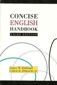 Concise English Handbook