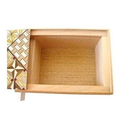 Yosegi Puzzle Box 4 sun - 7 steps: Toys & Games