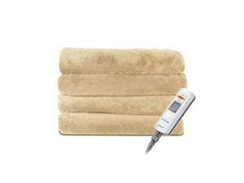 Sunbeam Velvet Soft Plush Electric Heated Throw Blanket 3 He