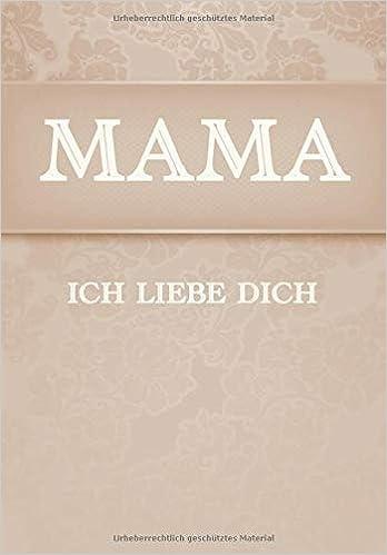Mama Ich Liebe Dich Ausfüllbuch Und Album German