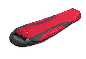 McKinley Dalton Trek Junior - Saco de dormir infantil (cremallera/Color: Derecho - Rojo): Amazon.es: Deportes y aire libre