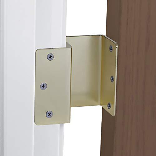 HealthSmart Expandable Door Hinges, Brass by HealthSmart (Image #1)