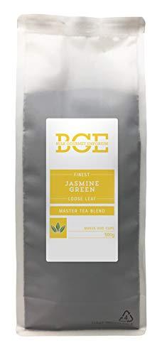 Bulk Gourmet Emporium - Te verde de hojas sueltas con jazmin en bolsa reciclable, 500 g (200 tazas aprox)