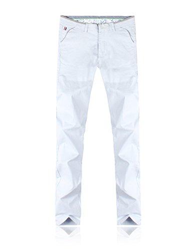 Demon&Hunter Men's Soft Cotton Elastic Chinos Pant DH8323-1(33) by Demon&Hunter