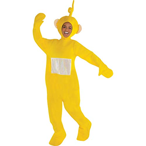 Costumes USA Teletubbies Laa Laa Costume, Standard Size, Includes a Jumpsuit, a Headpiece, and Hand and Shoe Covers]()