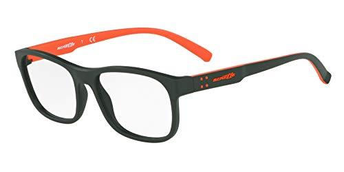 Arnette Men's AN7171 Williamsburg Rectangular Eyeglass Frames, Matte Dark Green /Demo Lens, 54 ()