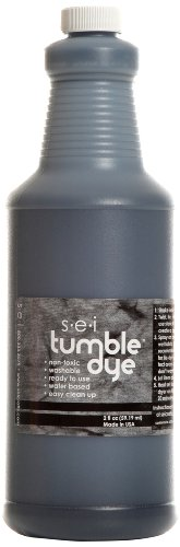 Sew Easy Industries Tumble-Dye Bottle, 1-Quart, Sports Black by Sew Easy Industries