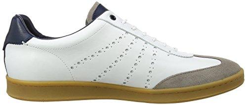 Ted Baker Orleem, Sneaker Uomo Bianco (White/Multi #Ffffff)