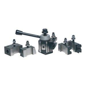 PHASE II 251-100 100ST 6 Pc Piston Q/C Tool Post Set-Lathe Swing 9