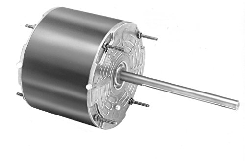 Fasco D917 5.6'' Frame Totally Enclosed Permanent Split Capacitor Condenser Fan Motor with Sleeve Bearing, 1/6HP, 1075rpm, 208-230V, 60Hz, 1 amps by Fasco (Image #1)