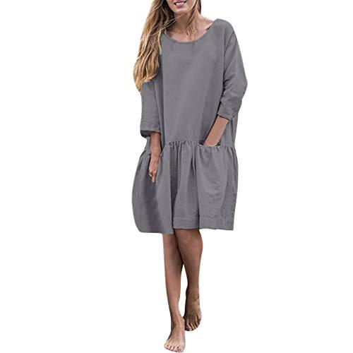 TOPUNDER Summer Dresses for Women Maxi Dress White Womens Maternity Plus Size Long Boho