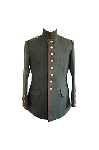 (militaryharbor WWI German Empire M1910 Officer Gabardine Tunic-M)