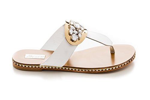 Antonio Raggini Women's Fashion Sandals Bianco IjKo6v