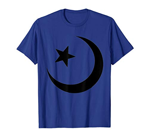 Islamic Symbol T-Shirt Crescent Moon And Star