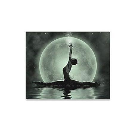 Arte de la pared Pintura Magia Yoga Meditación a la luz de ...