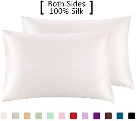 Amazon.com: YANIBEST Fundas de almohada, 2 unidades, 100 ...