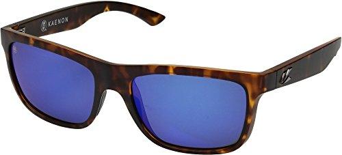 Kaenon Unisex Clarke Matte Tortoise/Pacific Blue Mirror One - Sunglasses Kaenon Sr 91