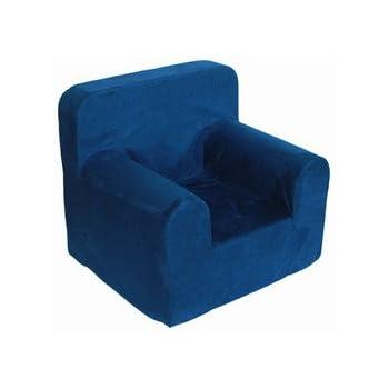 Ordinaire Crew Furniture 991680 Bitty Kids Foam Chair Estate Blue